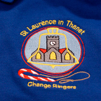 Embroidered clothing for Thanet Bell Ringers Association