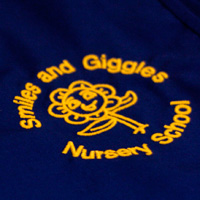 Embroidered Logo Tabbard For Nursery in Thanet Kent